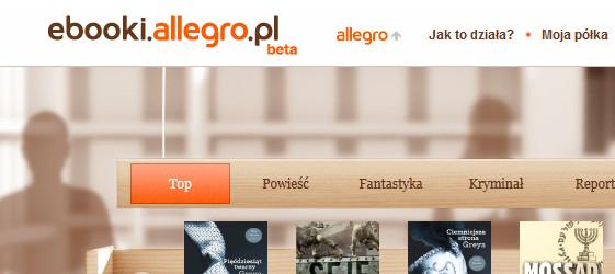 Allegro sprzedaje e-booki