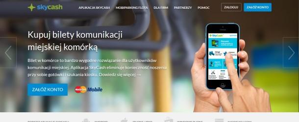SkyCash z nową, responsywną stroną internetową