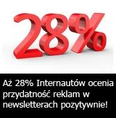 Reklama w newsletterach - ocena Internautów