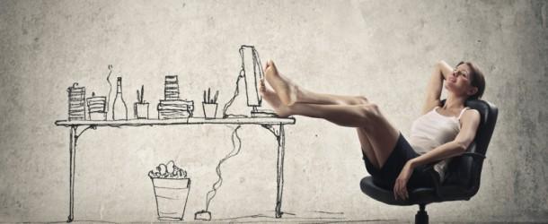 Wygodne stanowisko pracy przed komputerem